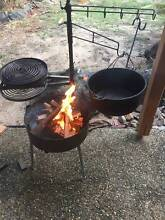SWINGING HOT PLATE & GRILL with THE AUSSIE FIRE PIT AUSSIE MADE Parramatta Park Cairns City Preview