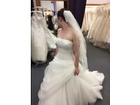 Tom flowers wedding dress size 8-12