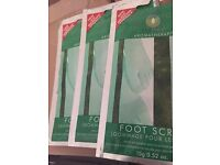 Tea tree foot scrub