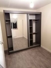 💥 ⏩CHEAPEST EVER PRICE ⏩ ORDER NOW NEW HIGH QUALITY STORAGE SLIDING 2 & 3-DOOR WARDROBE ⏮💥💥