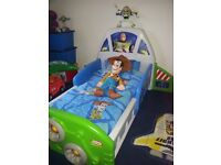 Very rare Little Tikes Buzz Lightyear Bed