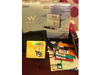 Walkman Sony minidisc mz-n505