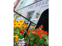 Second chef required at the Rose of Denmark in Hotwells