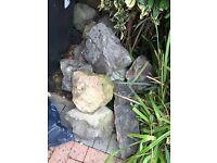 Garden Rockery Rocks Free to collector