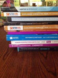 Year 11 and 12 Textbooks for sale Wembley Downs Stirling Area Preview