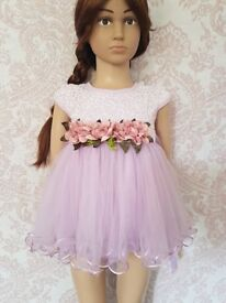 baby girl flower dress nwt