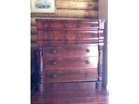 Very large chest of drawers