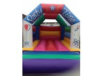 Nearly new bouncy castle