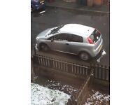 SIlver Fiat Grande Punto for sale, low mileage!