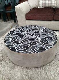 Large Round Footstool