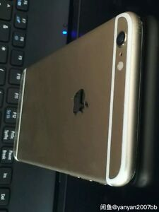 Unlocked iPhone 6. 64G in gold with perfect screen. Edmonton Edmonton Area image 3