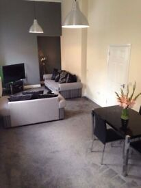 2 bed flat for rent in Airdrie town center.