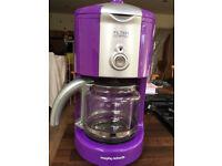 Morphy Richards Coffee Machine (purple)