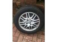 Alloy Wheel with new tyre (Ford focus)