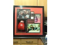 Ken Norton boxing memorabilia signed