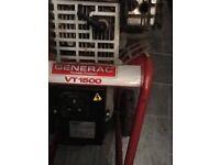 Petrol generator ( 4 stroke ) 1.1kva .