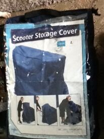 mobility scooter medium deluxe storage cover made by simplantex