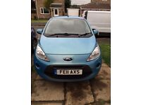For sale Ford Ka economy start stop engine. 1.2 litre petrol. Air con. In good condition.