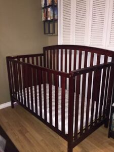 Crib with Sears mattress