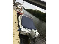 18ft Shetland 535 boat with honda 50hp 4stroke and trailer
