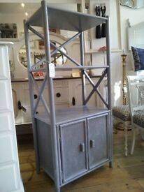 Vintage Cane Bamboo wall UNIT.