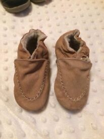 Brand New Robeez Baby Shoes - 12-18 months
