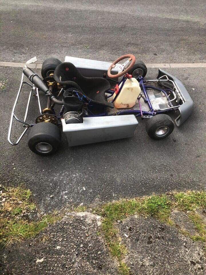 100cc petrol go kart with spare parts | in Little Hulton, Manchester |  Gumtree