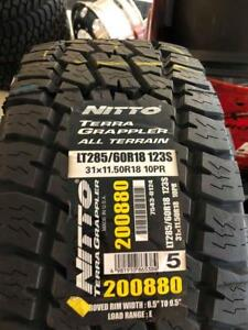 NITTO TERRA GRAPPLER ALL TERRAIN LT285/60R18