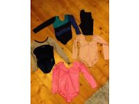 Four Gymnastic Leotards