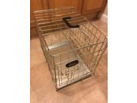 Small dog cage -