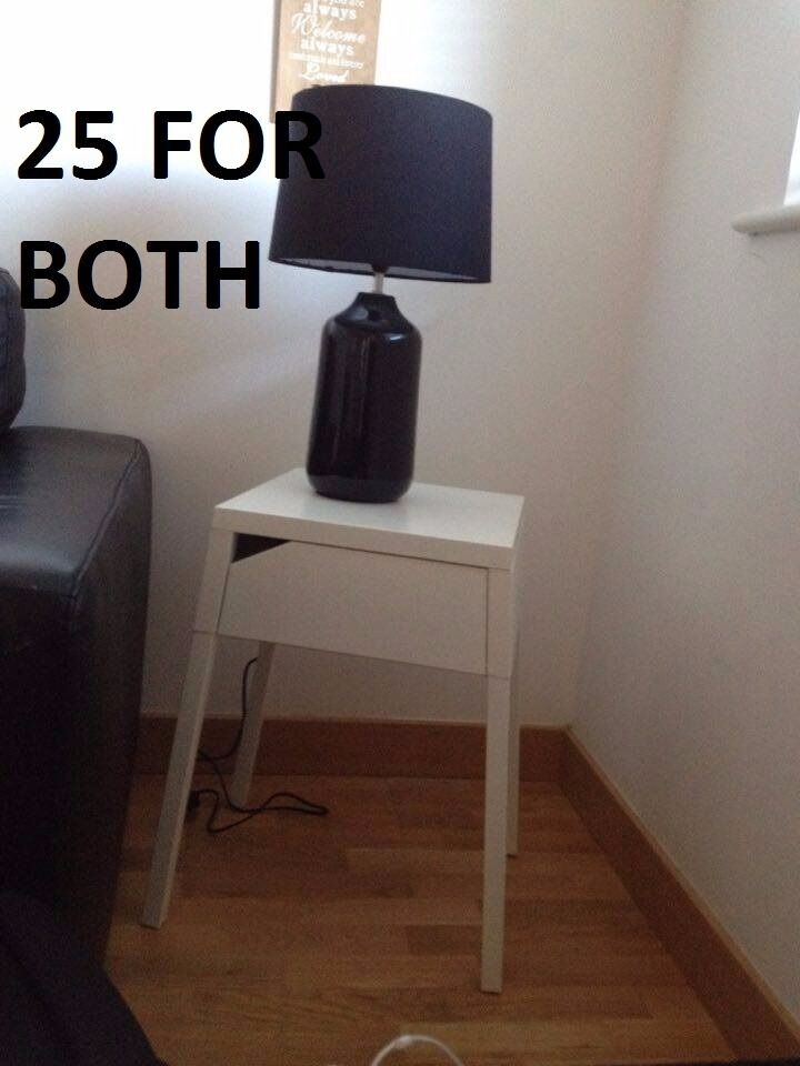 Lamp and bedside table