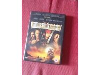 Pirates of the Caribbean dvd