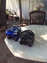 2 motorcycle helmets $20 each North Albury Albury Area Preview