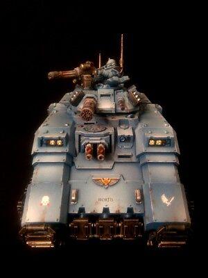 PRO-PAINTED Primaris Space Marines Repulsor Tank COMMISSION 1 model