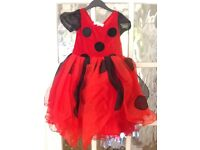 Girls dressing up clothes age 3-4. Ladybird, pirate and Snow White PERFECT XMAS GIFT