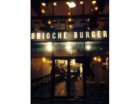 Waitress required for upmarket Burger Restaurant