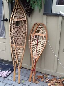 Vintage Québécois Snowshoes - Great Decor Item!!! Belleville Belleville Area image 9