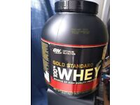 Optimum Nutrition ON 100% Gold Standard Whey Protein Powder 2.2kg