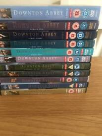 Downtown Abbey DVD collection