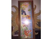 Winnie the Pooh Nursery picture, lovely in a bedroom