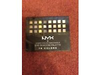 NYX 78 colour eye shadow set