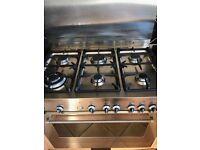 Delonghi gas cooker 6 ring