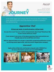 Apprentice Chef - Cardiff Marriott Hotel