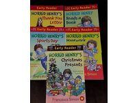 Horrid Henry Easy Reader books.