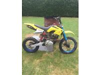 ghost 200cc does run and ride but bogs due to carb needs attention has recent new tyres and tubes