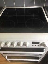 Hotpoint free standing electric hob