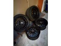 "Cruise 190 Alloy wheels 8"" 5x114.3"