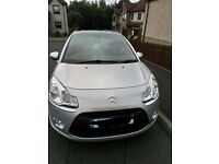 Citroen C3, 61 plate, silver car, economical, road tax exempt, 64000 miles, full service history