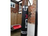 Heavy weight punch bag + wall bracket