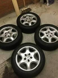 Mercedes C class sport wheels 5x112